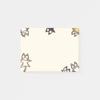 Lots of Cats Post-it Notes