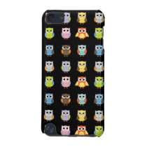 Lots of Colorful Cute Owls Pattern iPod Touch 5G Cover