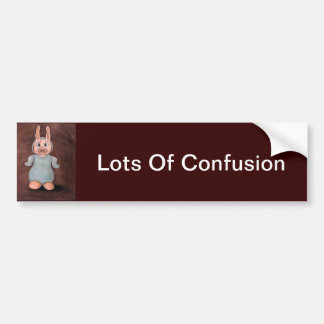 Lots Of Confusion Bumper Sticker