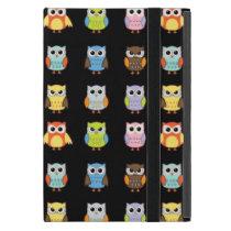 Lots of Cute Owls Pattern iPad Mini Covers