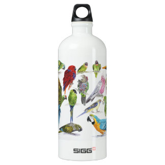Lots of different Parrots of especially for SIGG Traveler 1.0L Water Bottle
