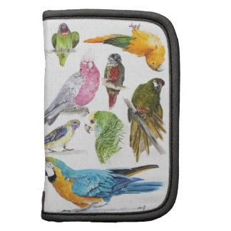 Lots of different Parrots of gifts especially for Folio Planners