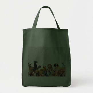 Lots of Dogs Collage bag