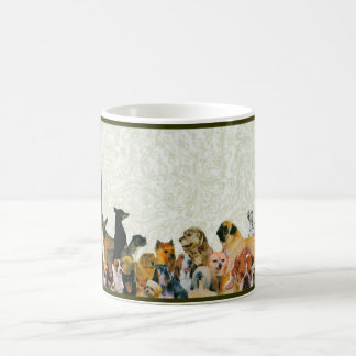 Lots of Dogs Collage by Kewzoo Coffee Mug