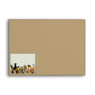 Lots of Dogs Collage Envelope