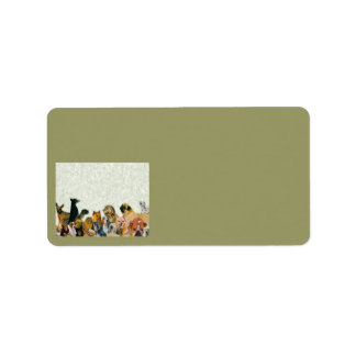 Lots of Dogs Collage labels
