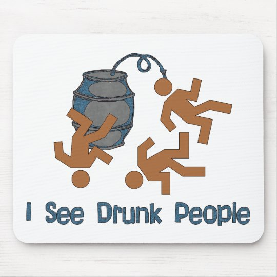 Lots Of Drunk People Mouse Pad
