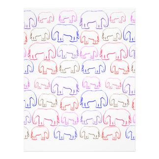 lots of elephants letterhead
