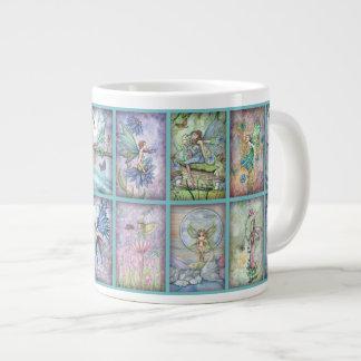 Lots of Fairies Jumbo Mug 20 Oz Large Ceramic Coffee Mug