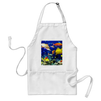 lots of fish adult apron