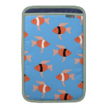 Lots of fishies sleeve for MacBook air