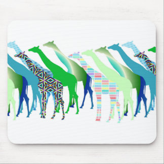 Lots of Giraffes Design 1 Mouse Pad