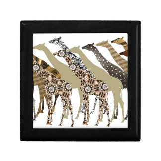 Lots of Giraffes Design 3 Jewelry Box