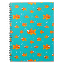 Lots Of Goldfish Notebook