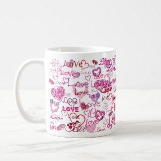 Lots of Hearts and Love Coffee Mug