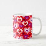 Lots of Hearts Coffee Mugs