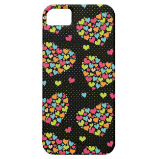 Lots of Hearts Fun & Colorful iPhone SE/5/5s Case