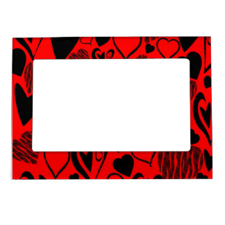 Lots of Hearts Magnetic Picture Frame