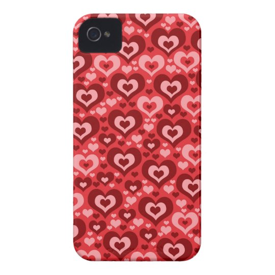 Lots of Hearts Phone 4 Case