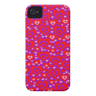Lots of Hearts Phone 4 Case iPhone 4 Cover