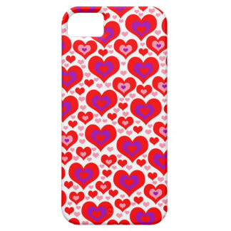 Lots of Hearts Phone 4 Case iPhone 5 Cases