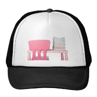Lots of homework mesh hat