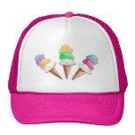 LOTS of ICE CREAM FLAVORS by SHARON SHARPE Mesh Hats