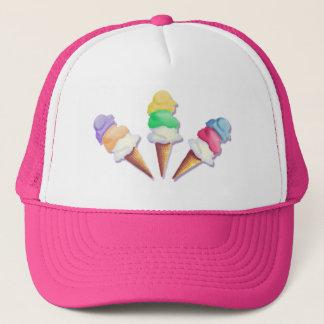 LOTS of ICE CREAM FLAVORS by SHARON SHARPE Trucker Hat