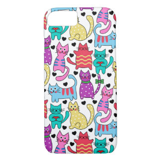 Lots Of Kitty Cats iPhone 7 Case