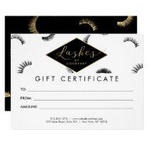 Lots of Lashes Lash Salon White/Black Gift Card