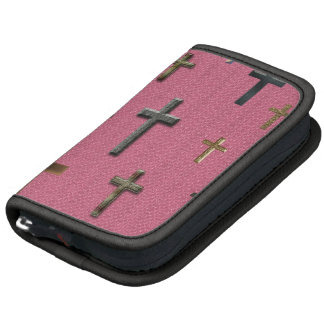 Lots of Little Crosses on Girly Pink Planners