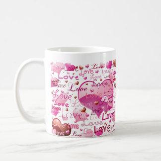 Lots of Love and Hearts Coffee Mug