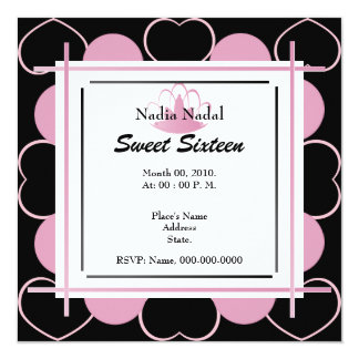 Lots of Love For A Sweet Sixteen-Customize Card