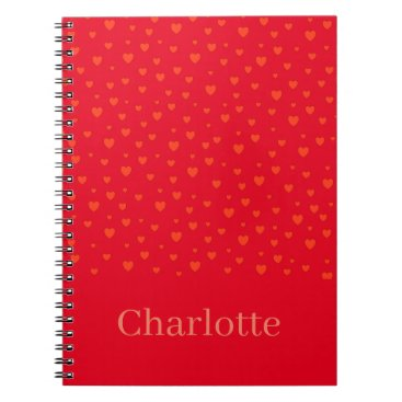Lots Of Love Hearts Notebook