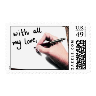 Lots of love postage