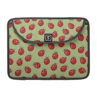 Lots of Lucky Ladybugs Sleeves For MacBook Pro