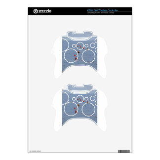 Lots of mooring buoys floating on water in marina xbox 360 controller skin