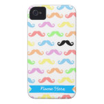 Lots of Mustaches iPhone case (customizable!) iPhone 4 Case-Mate Case