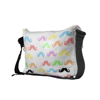 Lots of Mustaches Messenger bag