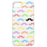 Lots of Mustaches (white) iPhone 5 Cases