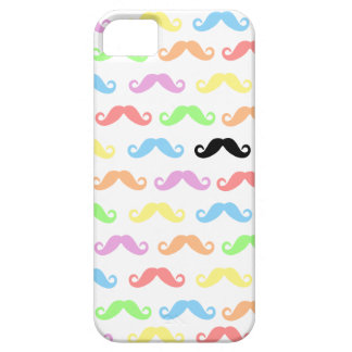 Lots of Mustaches (white) iPhone SE/5/5s Case
