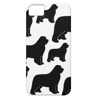 Lots of Newfoundland dogs iPhone 5 Covers