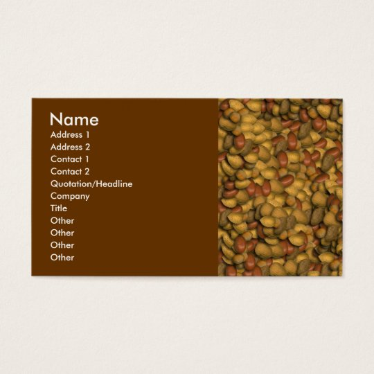 Lots of Nuts Business Card