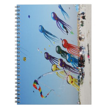 Beach Themed Lots of Octopi Notebook