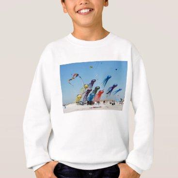 Beach Themed Lots of Octopi Sweatshirt