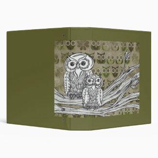 Lot's of Owls Binder