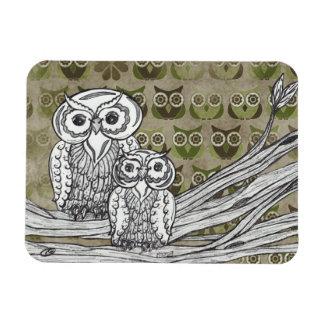 Lot's of Owls magnet