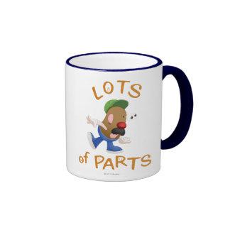 Lots of Parts Ringer Coffee Mug