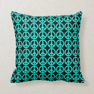 Lots of Peace Signs Throw Pillow