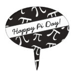 Lots of Pi - Math - Happy Pi Day Cake Topper